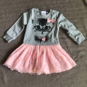 Nannette Kids Cat Dress